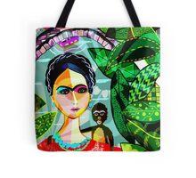 Frida at the Riverwalk Tote Bag