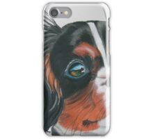 Sandy - King Charles Spaniel Tri Color iPhone Case/Skin