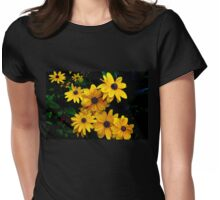 Pretty little black-eyed Susan Womens Fitted T-Shirt