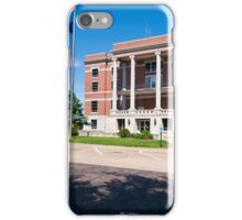 Pratt County, Kansas, Courthouse iPhone Case/Skin