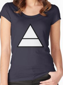 triangle Women's Fitted Scoop T-Shirt