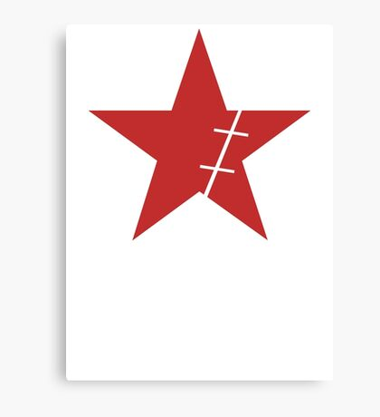 Zoro Crimin Star Canvas Print