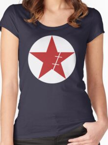 Zoro Crimin Star Women's Fitted Scoop T-Shirt