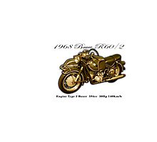 Vintage Motorcycle 06 Photographic Print