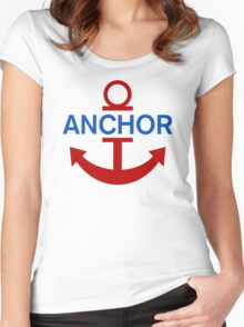 Luffy Anchor Women's Fitted Scoop T-Shirt