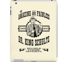 Dr. King Schultz iPad Case/Skin