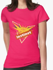 Pokemon GO Splatfest Team Instinct Womens Fitted T-Shirt
