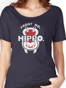 Frog?  No. Hippo. Women's Relaxed Fit T-Shirt
