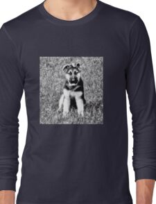 GermanShepherd Puppy Long Sleeve T-Shirt