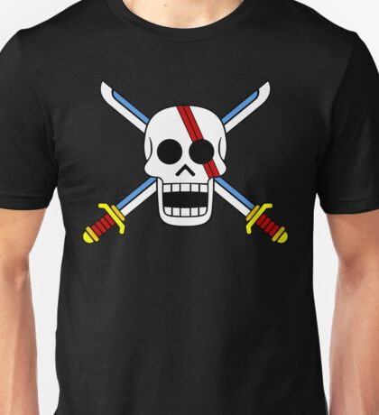 Red Hair Pirates Jolly Roger T-Shirt