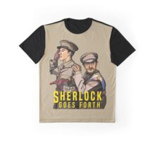 Sherlock Goes Forth Graphic T-Shirt
