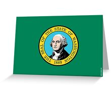 Washington State Flag Greeting Card