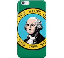 Washington State Flag iPhone Case/Skin