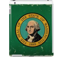 Washington State Flag VINTAGE iPad Case/Skin