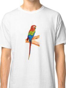 Ara perching on the branch Classic T-Shirt