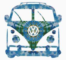 VW Tie Dye Kids Tee