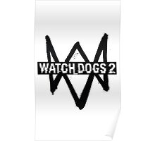 Watch Dogs 2 Logo Poster