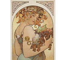 Alphonse Mucha - Fruit 1897  Photographic Print