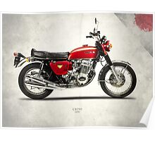 The CB750 1970 Poster