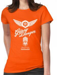 Gipsy Danger (White) Womens Fitted T-Shirt
