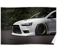 Front End Evo X Poster
