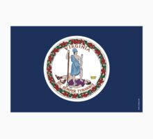 Virginia State Flag Kids Clothes