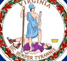 Virginia State Flag Sticker