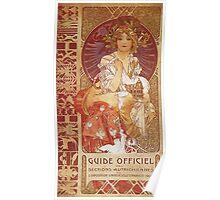 Alphonse Mucha - Guide Officiel Des Sections Autrichiennes De L Exposition Universelle De Paris Poster