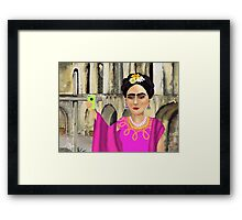 Selfie at the San Jose Mission Framed Print