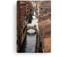 Red Roofs of Venice Metal Print