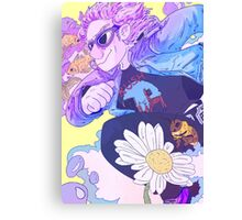 QUICKSILVER Canvas Print
