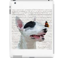 English Bull Terrier & Butterfly iPad Case/Skin