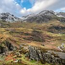 Snowcapped Snowdonia by Adrian Evans