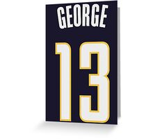 Paul George Greeting Card