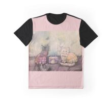 Tea with Lucy and Isabelle Graphic T-Shirt