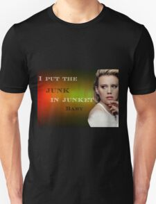 I put the junk in junket baby Unisex T-Shirt