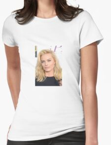 Margot Robbie Womens Fitted T-Shirt
