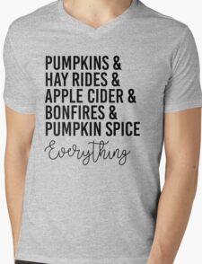 Everything Fall Mens V-Neck T-Shirt