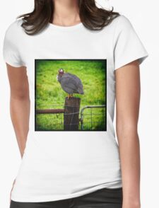 Fowl Play Womens Fitted T-Shirt