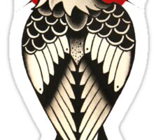 Traditional American eagle with a dagger Sticker