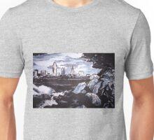 Cleveland skyline Unisex T-Shirt