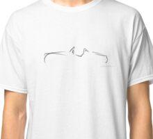 Profile Silhouette Triumph TR3 - black Classic T-Shirt