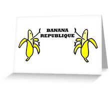 Banana Republique Greeting Card