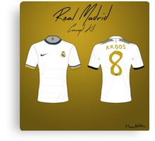 Real Madrid Nike Concept Kit Canvas Print