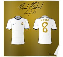 Real Madrid Nike Concept Kit Poster