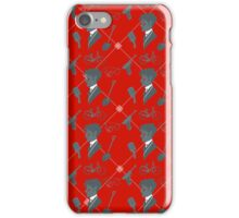 Monsieur Charlatan Pattern  iPhone Case/Skin