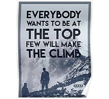 At The Top Poster