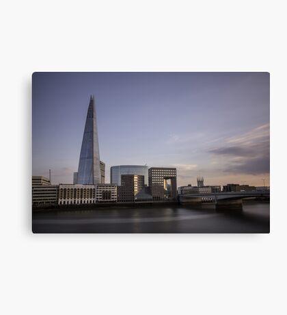 Divagation - London Lights Canvas Print