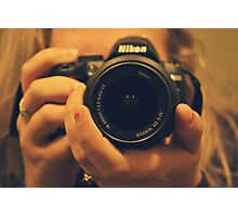 NIKON Photographer Photographic Print