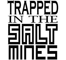 Trapped in the Salt Mines Photographic Print